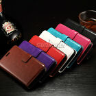 Kickstand Leather Card Wallet Case Cover for LG Leon 4G LTE, H340N MS345 H320