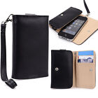 Small Simple Protective Wallet Case Clutch Cover for Smart-Phones ESAMWL-6