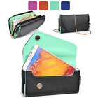 KroO Fad PU Leather Protective Wallet Case Clutch Cover for Smart-Phones XLUB11