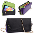 Womens PU Leather Wallet Case Cover & Crossbody Clutch for Smart-Phones MLUB13