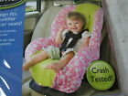 Summer by Kiddopotamus Infant CarSeat Cover Floral NIP Pink White and Sage NIP