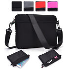 KroO Water Resistant Padded 10.1 Inch Laptop Sleeve / Shoulder Bag Cover NDR2-1