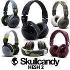 New Skullcandy Hesh 2 2.0 Stereo Headset Supreme Sound Mic+ Black White Grey