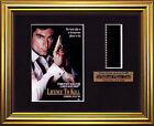 BOND 007  Licence to Kill   Timothy Dalton   FRAMED MOVIE FILMCELLS
