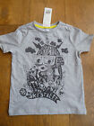 GORILLA HEAD SKATE PARK BOARD STREET GREY SHORT SLEEVED T SHIRT TOP 1 2 3 4 5 67