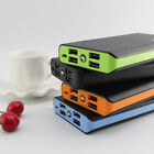 100000mAh 4USB LED Power Bank Portable External Battery Charger For Mobile Phone