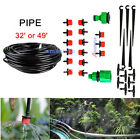 DIY Pipe Micro Drip Irrigation Plant Self Watering Garden Drippers Sprinkler Kit