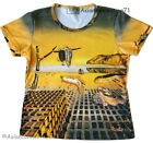 Dali DISINTEGRATION OF MEMORY Art Print T Shirt Misses Cap Sleeve S M L XL New