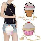 Chic Women Summer Shoulderbag Special Ice Cream Cup Cake Shape Crossbody Bag LJ