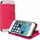 Designer Wallet Case Folio Cover With Card Holder For iPhone 5 5S SE