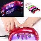 9W USB Nail LED UV Lamp With EU US Plug Curing Gel Dryer For Nail Art Tools