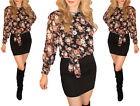 new nice beautiful flower dress black mini amazing comfortable party look