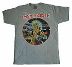 IRON MAIDEN - Killers Circle - (Gray) T SHIRT S-M-L-XL-2XL Brand New - Official