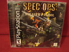BRAND NEW VINTAGE SONY PLAY STATION 1 SPEC OPS STEALTH PATROL 2000 RATED T