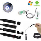 3.5/1/2/5M Waterproof Endoscope Android USB Inspection Tube Video Camera HD 6LED