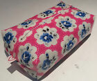 BABY WIPES COVER HANDMADE IN PRETTY DESIGNER OILCLOTH ZIPPED & STANDARD OPENINGS