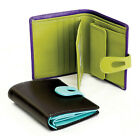ili Leather 7812 Wallet with RFID Blocking, 9 Colors