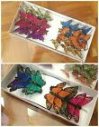 ARTIFICIAL FEATHER BUTTERFLIES (ASSORTED COLORS) *HOME/WEDDING DECO