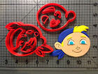 Cartoon Character 128 Cookie Cutter Set