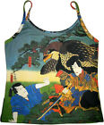 Hayabusa Samurai Japan Art Print Shirt Singlet TANK TOP Misses S M L XL New PN