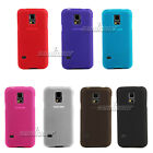 Gel Rubber Matte TPU Case Cover for Samsung Galaxy S5,i9600 G900F G900A G900L