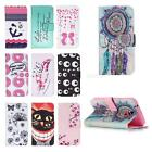 Painted Pattern PU Leather Fold Wallet Case for Samsung Galaxy S5(I9600) JMHG