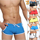 New 8 COLOUR OPTIONS MENS SMOOTH TIGHT SWIMMING BOXER TRUNKS OR  SPORTS SHORTS