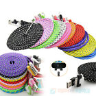 Strong Braided USB Data Sync Charger Cable Lead For iPhone 4 4S 3GS iPad 2 Ipod