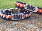 Chicago Bears Paracord Bracelet w/ NFL Dog Tag and Metal Buckle. AWESOME!!! on eBay