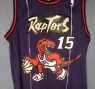 Vince Carter 15 Purple Toronto Raptors Throwback Basketball Jersey Stitched Men