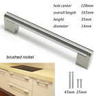 Probrico Boss Bar Kitchen Brushed Nickel Cabinet Handles Pulls Stainless Steel