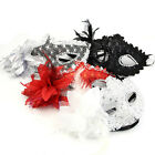 Venetian Flower Feather Fancy Dress Masquerade Costume Carnival Party Ball Mask
