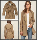 NWT Abercrombie & Fitch Womens Jacket af a&f HCO
