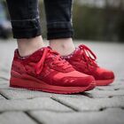 Asics Gel Lyte III 3 Mens Red Trainers - RRp £105 -