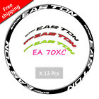 2017 Mountain bike Bicycle Decals for EA70 MTB Wheel Rim set Reflective Stickers