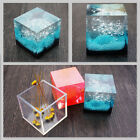 Square Clear Cube Mold Cabochon Resin Silicone Mould diy Jewellery Making