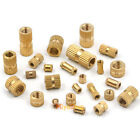 Knurl Insert Nut Threaded Metric Brass Round Copper Embedded Locknut M2.5-M6 New