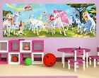 "Photo Wall Mural no.427 ""MIA AND ME - UNICORNS OF CENTOPIA"" 280x100cm"