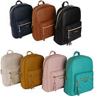 NEW Women's Fashion Quilting Design Faux Leather Simple Backpack (Free Shipping)