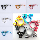Bike Bicycle Cycling Saddle Seat Post Clamp Quick Release 31.8mm Seat Tube Clamp