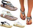 Womens Ladies Low Flat Wedge Heel Ankle Strap Gladiator Summer Sandals Shoes Siz