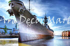 USS Wisconsin - CANVAS OR PRINT WALL ART