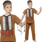 Boys Native American Warrior Costume Fancy Dress Historical Smiffys 24664