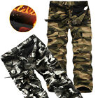 New Mens Army Combat Trousers Tactical Airsoft Camouflage Work Camo Pants Cargo
