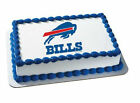 Buffalo Bills NFL football image cake topper frosting sheet icing #4585 $11.7 USD on eBay