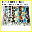 1 x Neck Lanyard ID Badge Key Holder Assorted Cartoon Designs Multi Selection