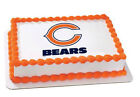 Chicago Bears NFL football image cake topper frosting sheet icing #4492 $13.25 USD on eBay