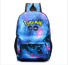 New Pokemon Go Leisure Backpack Cosplay swagger bag School Bag Sack