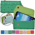 Convertible Aztec Smart-Phone Wallet Case Cover & Evening Clutch MLUC22