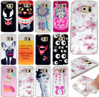 Cute Pattern Silicone TPU Shell Back Case Cover Skin For Samsung galaxy Phone